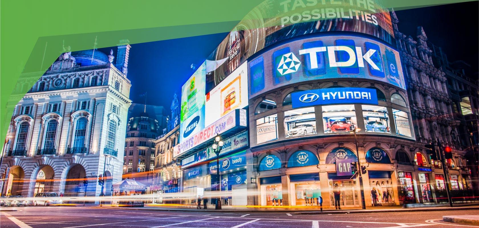 TDK LED DIGITAL Signage